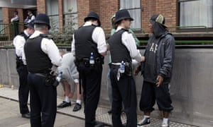 Police carry out stop-and-search at Notting Hill Carnival