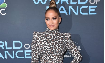 Jennifer Lopez in Los Angeles this year.