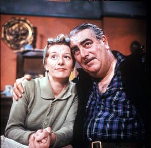 Jean Alexander with Bernard Youens.
