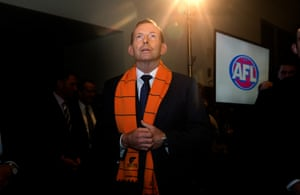 Abbott during a seemingly spiritual moment at Parliament House.