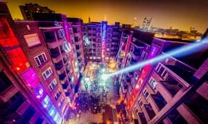 Antwerp's Plein Publiek open club space