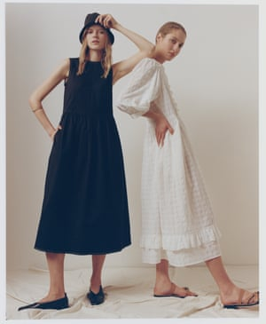 Seventh heaven Seven years after launching as a slow fashion knitwear brand, &Daughter has added seven dresses made from organic and end-of-line fabrics to its collection, one for each day of the week. From £325, and-daughter.com