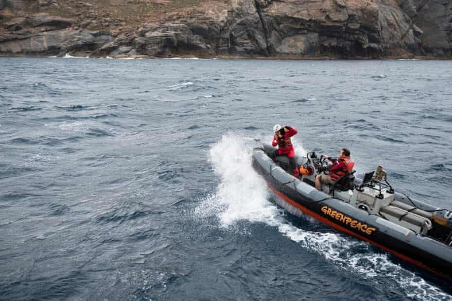 Navigating waters around Greenly Island, South Australia