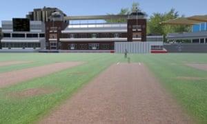 Virtual Reality (VR) cricket
