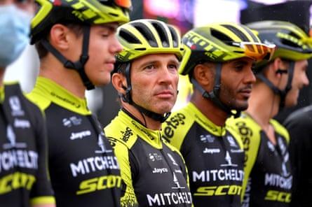Mitchelton-Scott riders