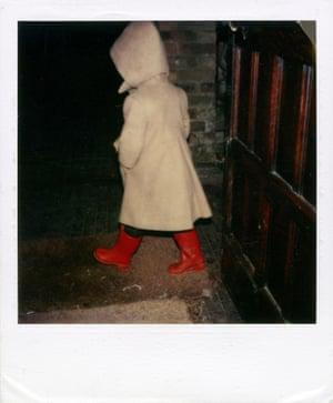 Polaroid taken by Linda McCartney.