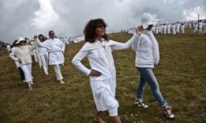 They practice meditation, yoga and breathing exercises