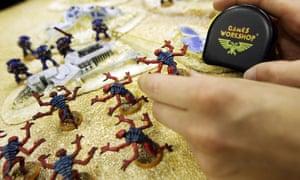 Fantasy miniatures bring roaring success to UK's Games