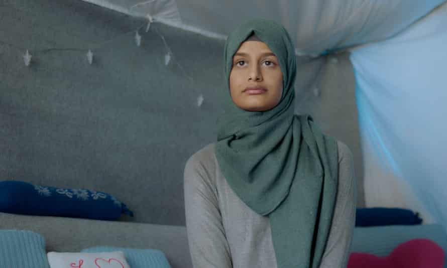 Shamima Begum in The Return: Life After Isis.