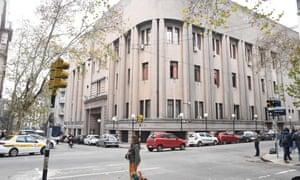 Montevideo's central prison, where Rocco Morabito and three other inmates escaped in Uruguay.