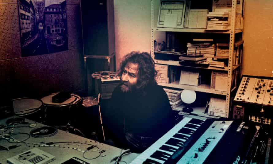 'A very primal, earthy person' … Kirchin in the studio in the 70s.