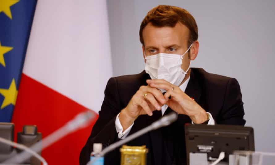 French president, Emmanuel Macron.