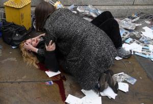 Injured in London
