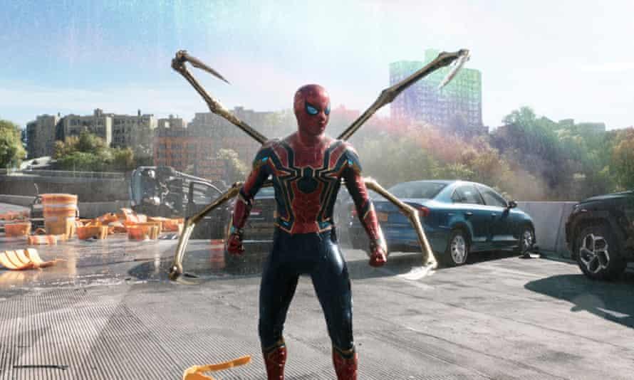 A still from Spider-Man: No Way Home