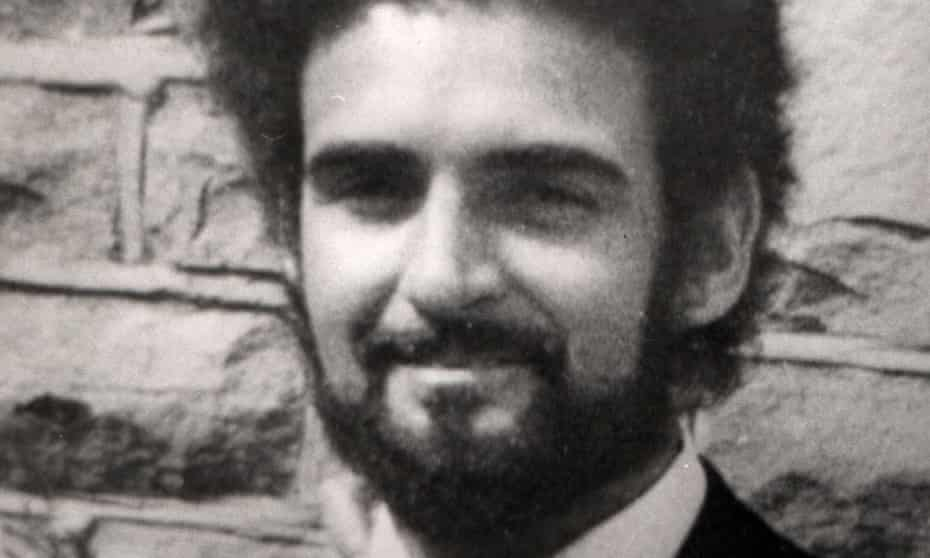 The 'Yorkshire Ripper', Peter Sutcliffe, in 1974.