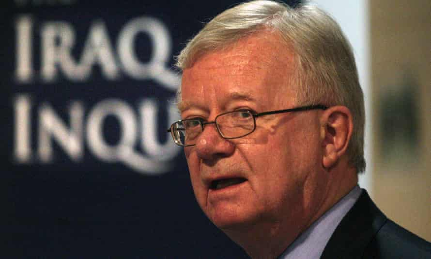 'I underestimated the time we would need' ... John Chilcot. Photograph: David Cheskin/PA