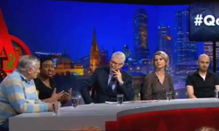 John Marsden on Q&A with fellow authors Maxine Beneba Clarke, Sofie Laguna and Michael Mohammed Ahmad and host Tony Jones.