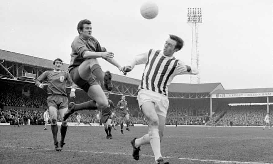 "In 2002 an inquest found that veteran player Jeff Astle, right, died from ""industrial disease"", ruling that the player's dementia was the result of repeatedly heading the ball."