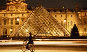 'The excess of the Louvre is so palpable, it's not really surprising that the reaction against sucopulence ultimately culminated in the French Revolution.'