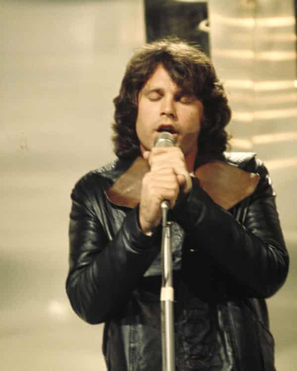Morrison on stage, 1968.