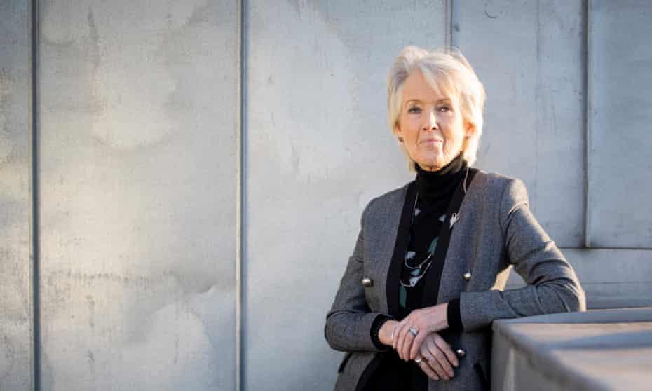 The author Joanna Trollope