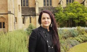 Prof Amber Murrey at Oxford