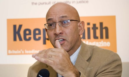 Peter Herbert, chair of the Society of Black Lawyers.