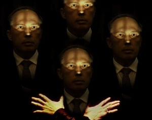 Peter Dutton in a doctored image