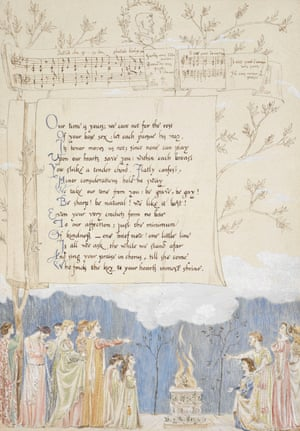 A handsome Valentine May Morriss love letter to George Bernard