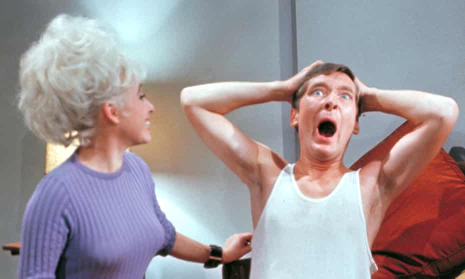 Rude health … Carry on Doctor with Barbara Windsor and Kenneth Williams.