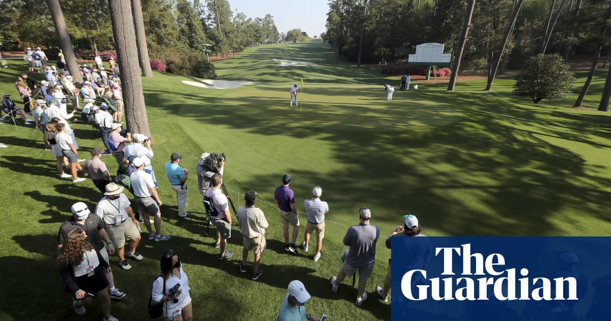 Fiery fairways at Augusta National to provide major test at the Masters | Ewan Murray