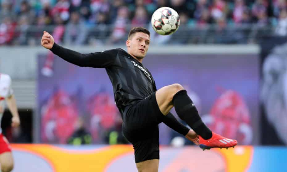 Luka Jovic is banging in goals for fun at Eintracht Frankfurt on loan from Benfica but will have his pick of Europe's top clubs this summer.