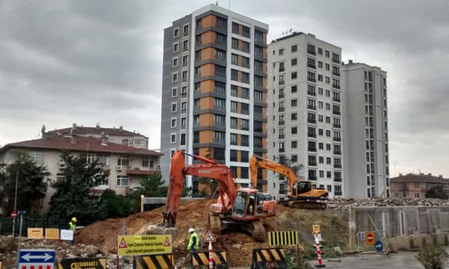 Construction in Istanbul