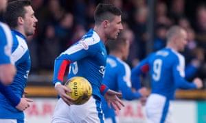 Alloa Athletic v Rangers - Scottish Championship