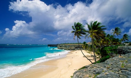 Bottom Bay in Barbados.