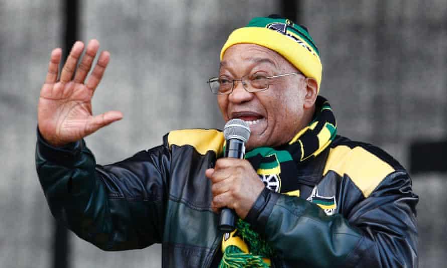 South African president Jacob Zuma.