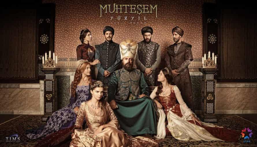 Publiciteitsbeeld voor tv-show Muhteşem Yüzyıl (Magnificent Century).