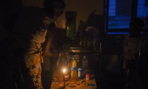 Darkness prevails in Juba teaching hospital, South Sudan's largest public health facility, where power and supplies are at a premium