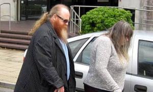 Dylan Seabridge's parents, Glyn and Julie Seabridge.