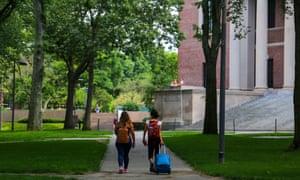Harvard University in Cambridge, Massachusetts.