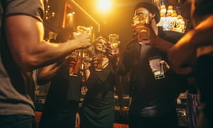 The 90s saw a huge surge in drinking, but alcohol consumption has been in steady decline since 2002.