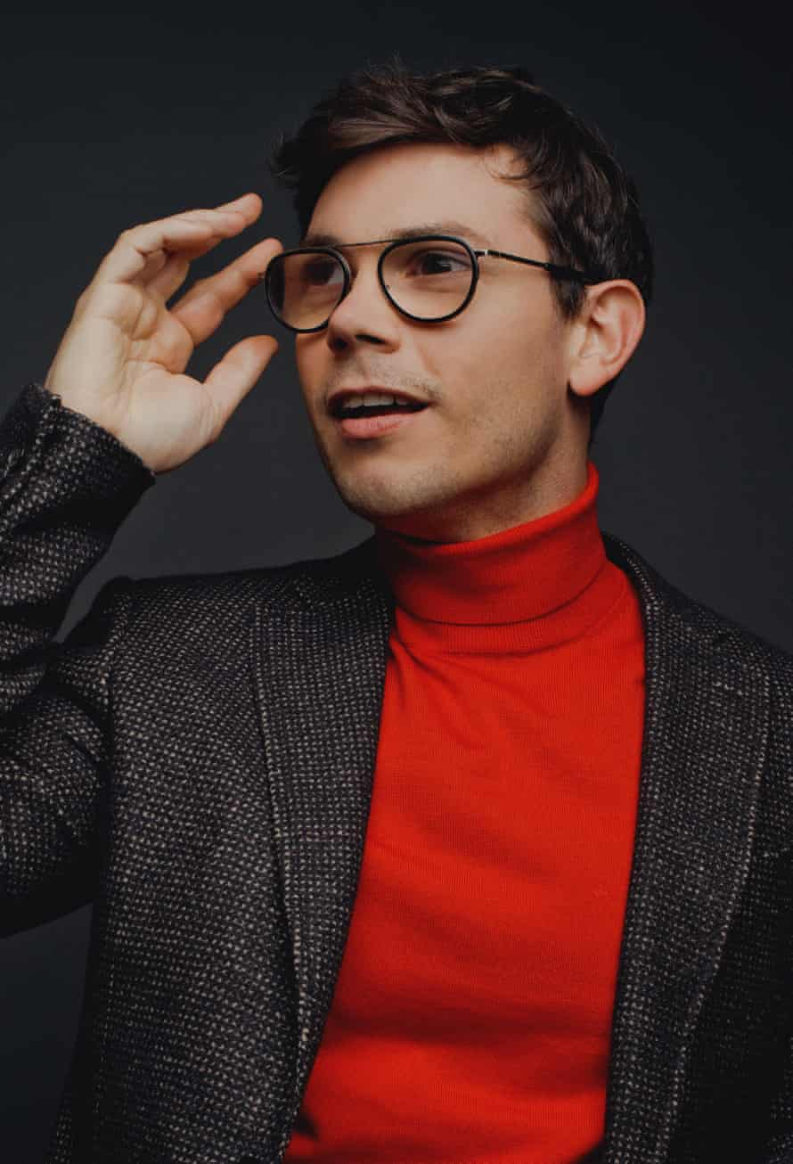 He's like the internet personified, but with none of the spite ... Ryan O'Connell.
