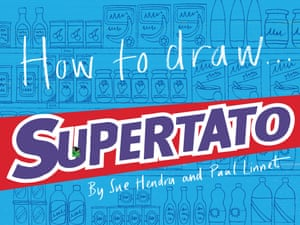 How to draw Supertato