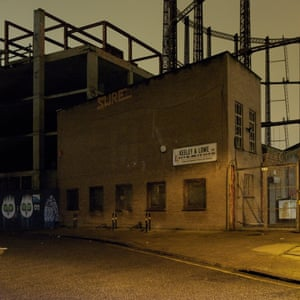 Photograph from Hackney by Night by David George, published by Hoxton Mini Press.