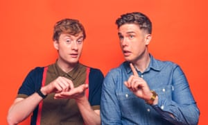 Off Menu presenters Ed Gamble and James Acaster.