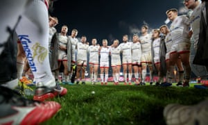 Ulster players after defeat to Munster last Saturday.
