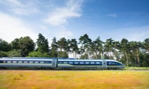 Eurostar new route to Bordeaux, France