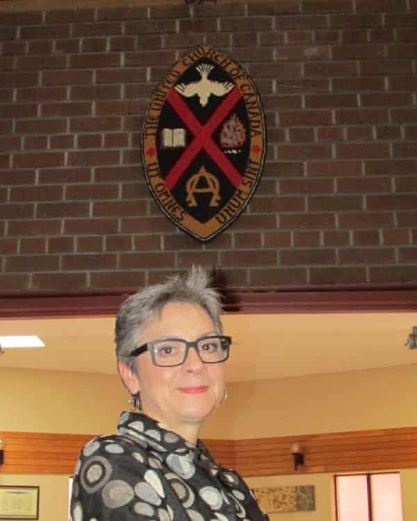 Gretta Vosper with united church of canada seal
