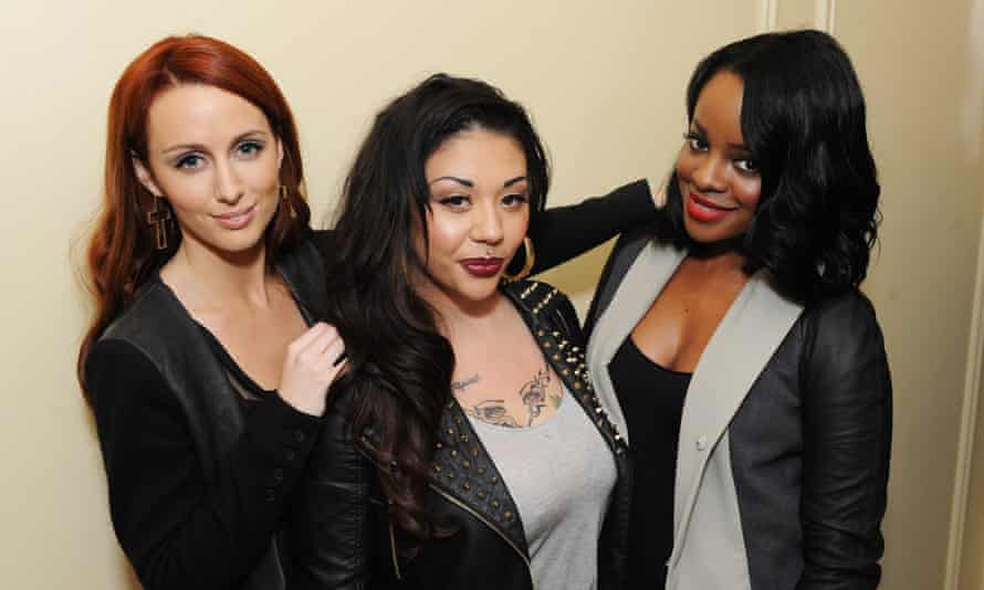 'Effort, sweat, studio time – for nothing' … Mutya Buena (centre) with the Sugababes.