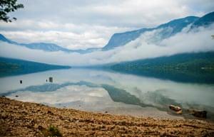 Bohinj lake, Slovenia.